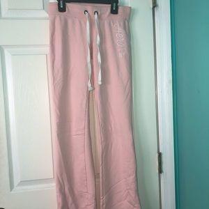 Light pink Aeropostale sweatpants